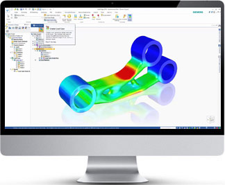 Visuel-solid-edge-simulation
