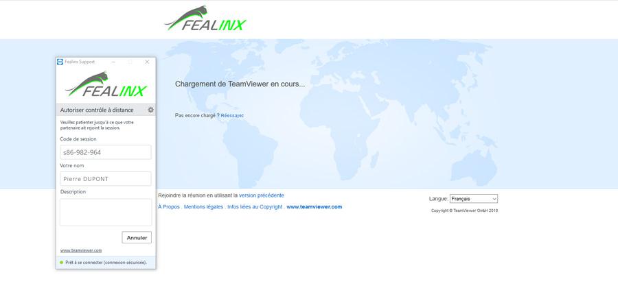 Teamviewer-Fealinx