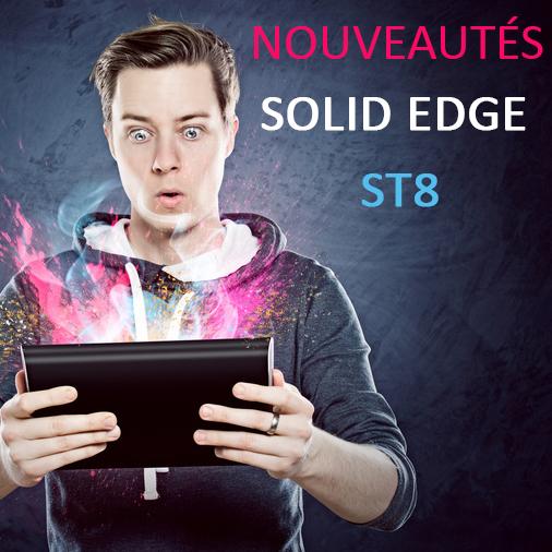 Nouveautes solid edge st8
